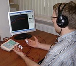 Hardware-Software-Komplex «Dianel 11S-iON» undein Computer-Programm «Dianel iON» zurpsycho-physiologischen Zustand beurteilen