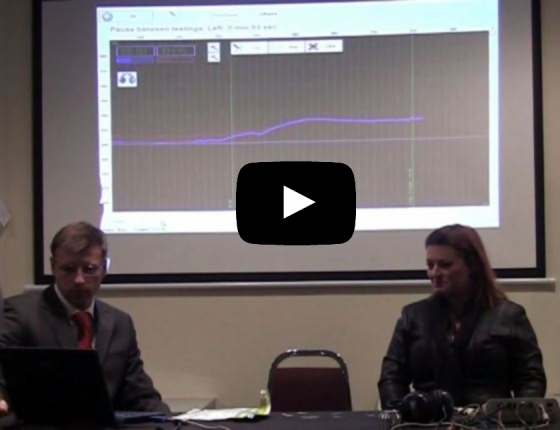 Presentation of Dianel Dianel 22S-iON diagnostic complex. Demonstration of capabilities for Dianel-iON software for the evaluation a psychophysiological condition of human