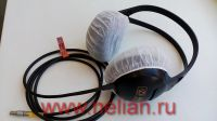 Disposable hygienic 35 g non-woven headphone cover caps (hood), 12.00 cm (5