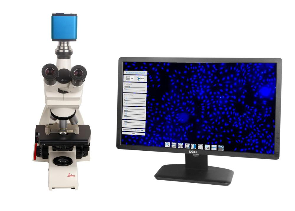 Ccd sanayi mikroskop kamera c mount lens cam kamera