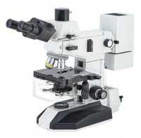 LOMO Mikmed 2 ver. 11 trinocular fluorescent microscope with two sources of light a mercury lamp + LED diode and lens mikroflyuary and stigmahromaty