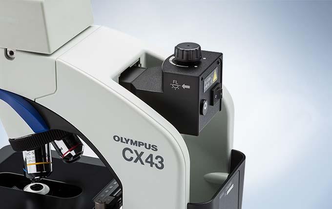 Trinokular mikroskop olympus cx